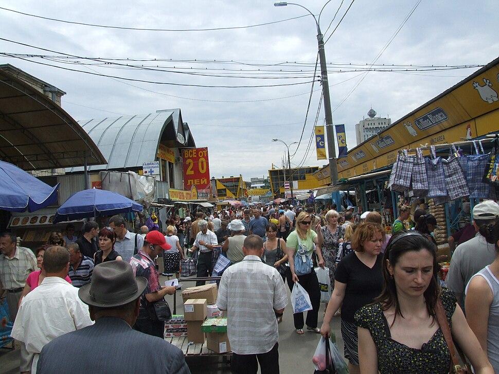 Central market of Chisinau