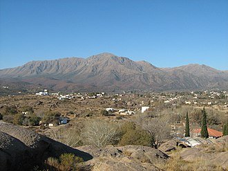 Punilla Valley - Mount Uritoco