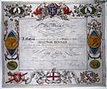 Certificate of the Freedom of the City, Jenner. Wellcome M0011023.jpg