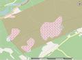 Champ de tir de BFC Valcartier map.png