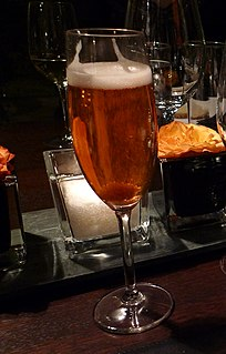 cocktail of champagne and Angostura bitters