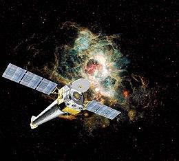 Resultado de imagen de El Telescopio Espacial Hubble y Chandra