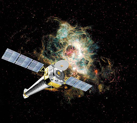 Chandra X Ray Observatory Satellite