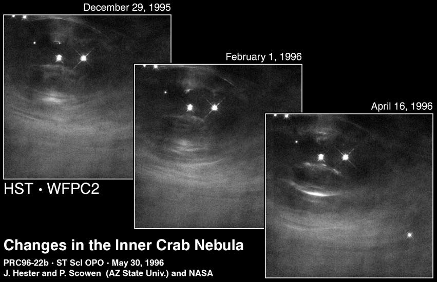 Changes in the Crab Nebula
