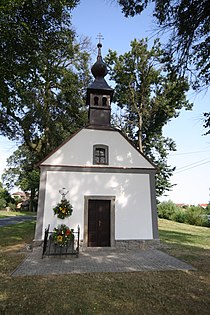 Chapel of Saint Cyril and Methodius in Zahrádka, Třebíč District.jpg