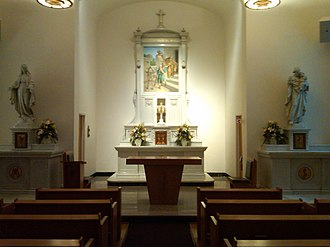 Church tabernacle - Before the 1960s, some bye-altars in Catholic churches also housed a tabernacle, in addition to that of the high altar.