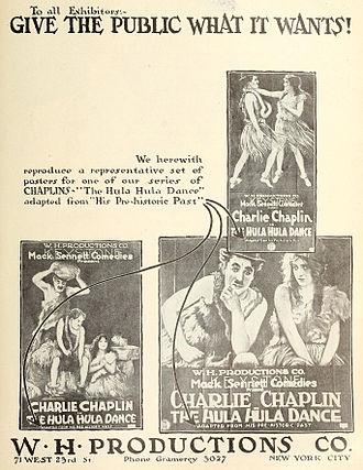 His Prehistoric Past - Advertisement (1918)
