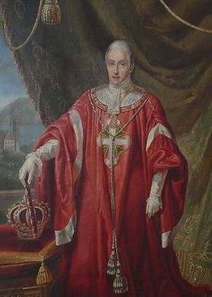 English: Painting of King Charles Felix of Sar...