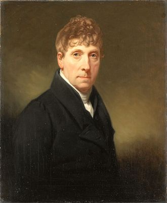Charles Howard Hodges - Selfportrait, 1835