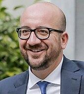 Photo de Charles Michel, actuel président du Conseil européen.