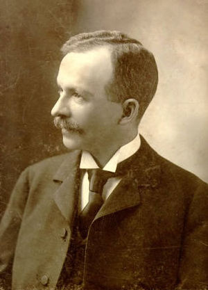 Charles W. Chesnutt - Charles W. Chesnutt at the age of 40
