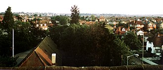 Charminster, Bournemouth - View from St. Francis of Assisi church