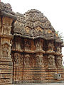Chennakeshava Temple at Aralaguppe(stellate shrine wall).JPG