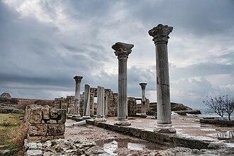 2002 World Monuments Watch - Image: Chersonesos columns