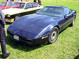 Chevrolet Corvette C4 front view.jpg