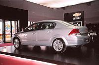 Chevrolet Vectra Sedan - 2006 Montevideo Motor Show.jpg