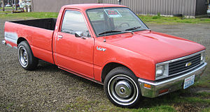 Chevrolet LUV - Image: Chevy LUV second gen