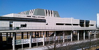 Chiba New Town Chūō Station Railway station in Inzai, Chiba Prefecture, Japan