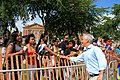 Chicago Mayor Rahm Emanuel at the Bud Billiken Parade 2015 (19807701223).jpg