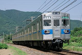 Chichibu Railway 5000 series Japanese train type