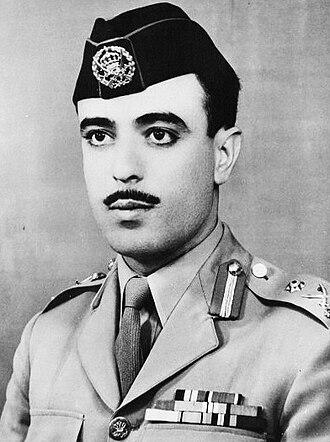 Ali Abu Nuwar - Portrait of Abu Nuwar, 1956