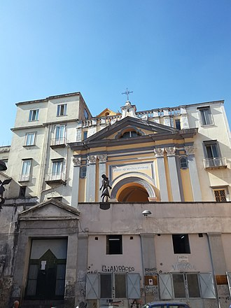 Santa Maria della Mercede a Montecalvario - Image: Chiesa Montecalvario 2