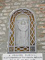 Chiesa di San Venanzio, loggia esterna, edicola Vergine Greca (Coccanile, Copparo) 02.jpg