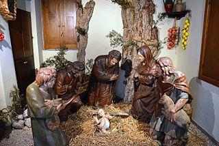 Nativité de Giovanni da Nola
