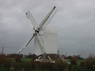 Post mill - Image: Chillenden mill