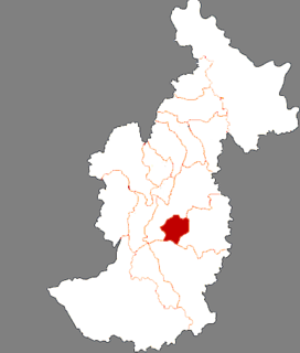 Xilin District District in Heilongjiang, Peoples Republic of China