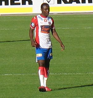 Chinedu Obasi - Obasi playing for Lyn.