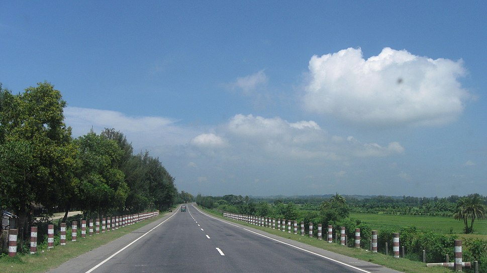 Chittagong Bypass to N1, September 2009