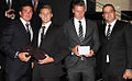Chris Heighington, Jacob Miller, Shaun Kenny-Dowall and Bill Mallouhi 2013.jpg