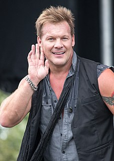 Chris Jericho American-Canadian professional wrestler, musician, author and actor