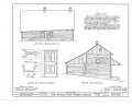 Christian Turck House, Kirchhayn, Washington County, WI HABS WIS,66-KIRHA.V,1- (sheet 4 of 5).png