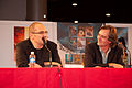 Christophe Arleston and a journalist 20071102 Chibi Japan Expo 3.jpg