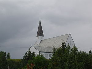 Elvebakken Church - Image: Church in Alta