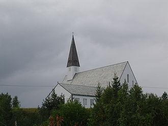 Elvebakken Church - Image: Church in Alta