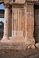 Church of Saint Simeon Stylites, Qalat Sem'an Complex (قلعة سمعان), Syria - Column and pier in octagon - PHBZ024 2016 0670 - Dumbarton Oaks.jpg