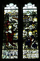 Church of St Mary the Virgin, Shipley, West Sussex, England ~ interior stained window 02.JPG