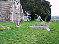 Churchyard, The Church of St Mary the Virgin, Upton Scudamore - geograph.org.uk - 682272.jpg