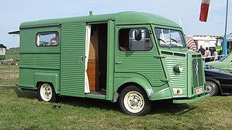 Citroën H Van - Near-side sliding door and front-hinged driver doors