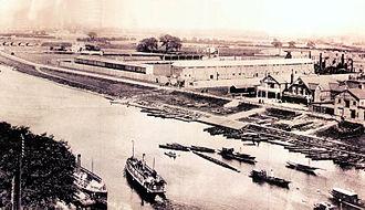 City Ground - The City Ground in 1898
