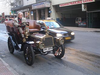 Clément-Bayard - A 1904 Clément-Bayard AC2K (twin-cylinder) in Montevideo, Uruguay