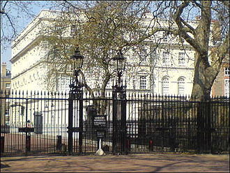Clarence House - Viewed from The Mall in 2008