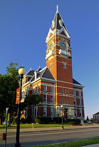 National Register of Historic Places listings in Clarion County, Pennsylvania - Image: Clarion County Pennsylvania Courthouse