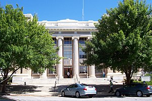 Downtown Athens Historic District - Clarke County Courthouse