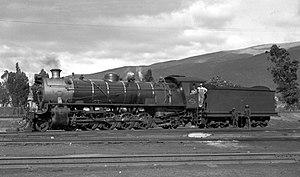 South African Class 14C 4-8-2, 3rd batch - Image: Class 14CR no. 1995