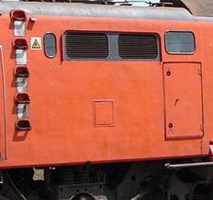 South African Class 6E1, Series 8 - Hatch door R