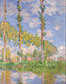 Claude Monet - Poplars in the Sun - Google Art Project.jpg